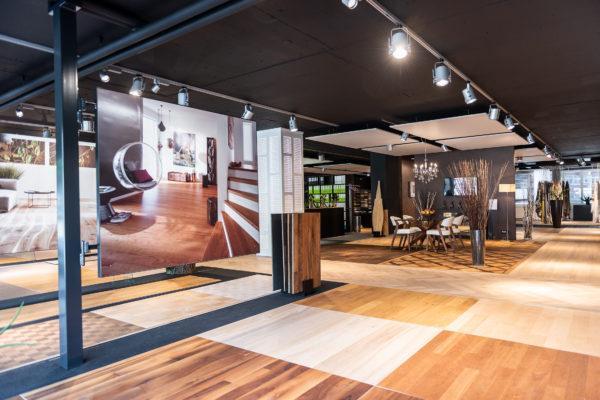 Showroom Parkett Maier Boden und Vorhang Zürich