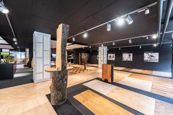 Showroom Zürich von Parkett Maier in der Schweiz