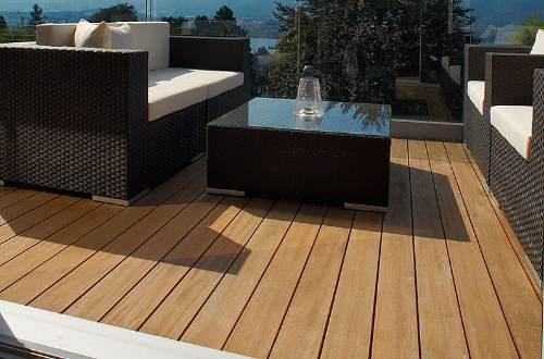 Außenboden Terrasse Parkett Maier